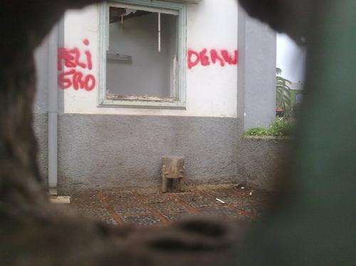 Una poderosa constructora destroza el Centro Social y Cultural Anaruz N Timizar de La Laguna