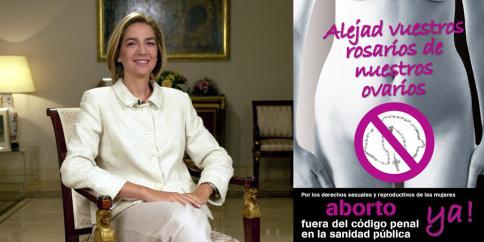 Alejad vuestros rosarios de nuestros ovarios