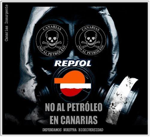 ¡No al petróleo en Canarias!
