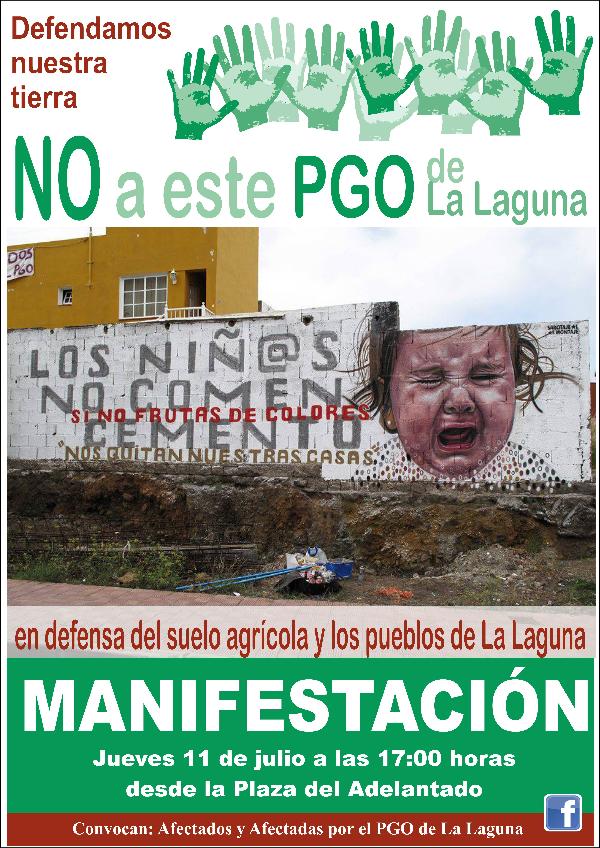 NO PGO de La Laguna