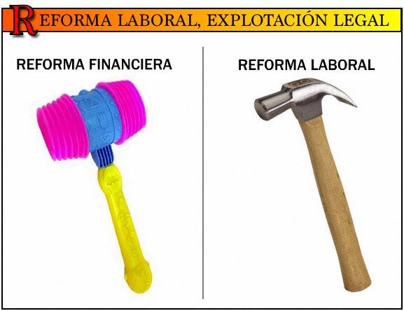 Reforma laboral, explotaciónlegal