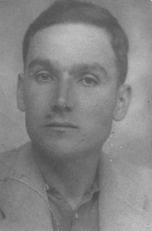 Juan Santana Vega fusilado por los fascistas en el año 1937