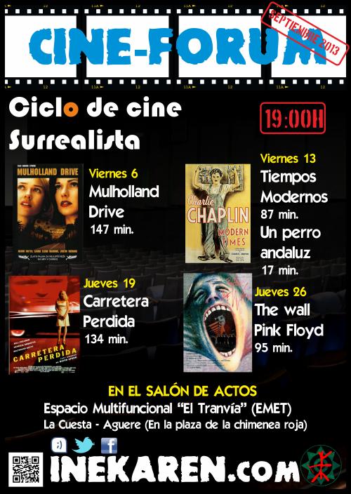 Cine forum septiembre 2013
