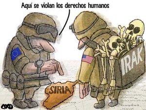 Así se violan los derechos humanos en Siria