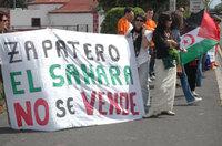 Zapatero el Sáhara no se vende