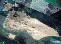 Isla de Bahrain, a la entrada del Golfo Pérsico. Puro desierto y petróleo en cantidades industriales. Igualito que nosotros