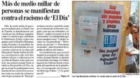 El Día retoma la criminal línea editorial xenófoba del periódico