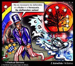 Kuba y Venezuela se defienden solas