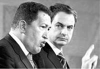 El presidente venezolano da una lección a Zapatero