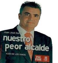 El ya ex alcalde