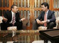 Paulino y su socio del pacto de perdedores, Soria
