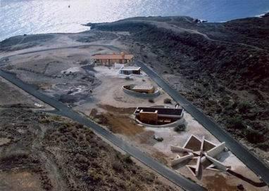 Construcción de algunas de las 25 viviendas bioclimáticas