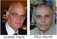 Orestes Martí y Félix Sautié