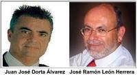 A la derecha José Ramón, secretario general de los socialistas icodenses. Objetivo número 1 de Cheo (izquierda) y sus mariachis, los mismos de la película de Roberto Rodríguez