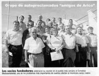 Grupo de autoproclamados amigos de Arico