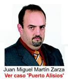 Juan Miguel Martín Zarza - Uno de los implicados en el escándalo Puerto Alisios SLL