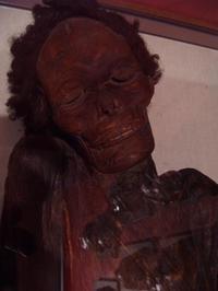 Momia guanche [clic para ampliar]