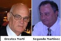 Orestes Martí y Segundo Martínez