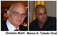Orestes Martí entrevista a Marco A. Toledo Oval
