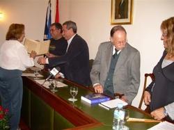 Fotografía del acto de presentación de la Asociación para la Recuperación de la Memoria Histórica de Tenerife celebrado el 15 de noviembre en el Salón de Plenos del Ayuntamiento de Buenavista