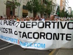 Manifestación por la Diginidad