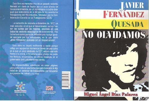 Javier Fernández Quesada. No olvidamos