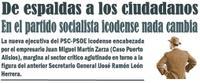 En el partido socialista icodense nada cambia