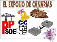 El expolio de Canarias