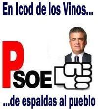Debacle socialista en Icod de los Vinos