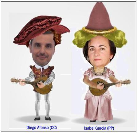 Diego e Isabel. CCoalición PPopular