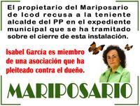 El propietario del Mariposario de Icod recusa a la teniente alcalde del PP en el expediente municipal que se ha tramitado sobre el cierre de esta instalación