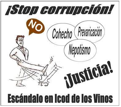 ¡Stop corrupción!