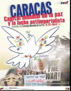 Caracas capital mundial de la Paz y de la lucha Antiimperialista
