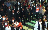 Zerolo en la procesión del Señor de las Tribulaciones