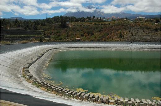 EmbaEmbalse de Buen Paso a menos de un 30% de su capacidad (Icod de los Vinos)
