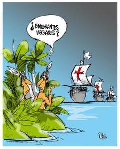 ¿Emigrantes ilegales?