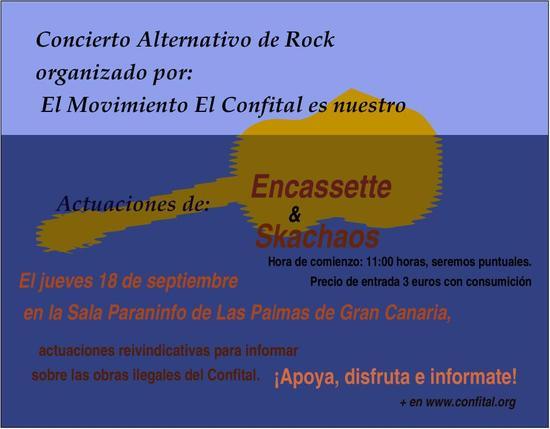 Concierto Alternativo de Rock