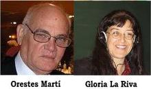 Orestes Martí y Gloria La Riva