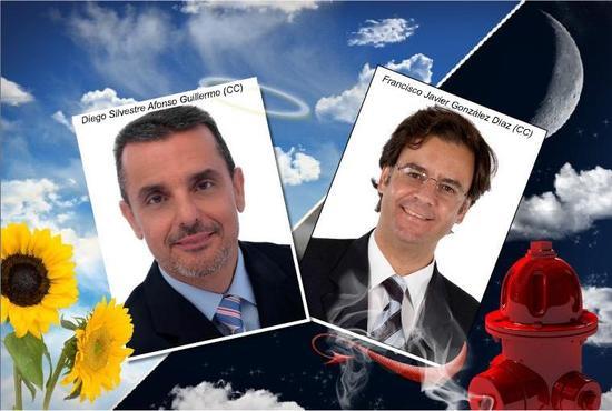 Diego Afonso y Francis González (CC)