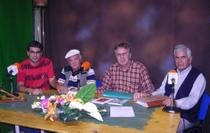 Foto (de izq. a der.) Federico González Ramírez, Roberto Domínguez Lima, Félix Martín Arencibia y Luís Pulido