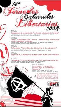 XIII Jornadas Culturales Libertarias
