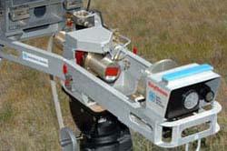 Uno de los prototipos de Ray Gun en etapa experimental