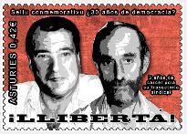 Concentración Libertad para los sindicalistas asturianos Cándido y Morala