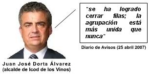 Juan José Dorta Álvarez miente