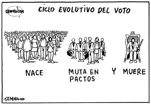Ciclo evolutivo del voto