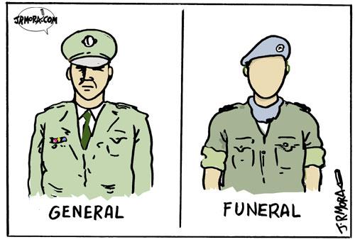 No todos los uniformes se manchan igual.