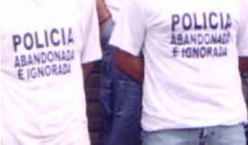 Policía abandonada e ignorada