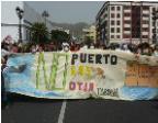 14M - Manifestación contra el Puerto de Granadilla
