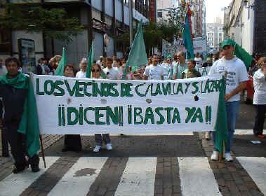 Los vecinos de Cuesta de la Villa y S. Lázaro dicen...