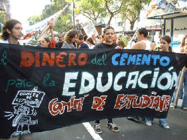 Comité de estudiantes.